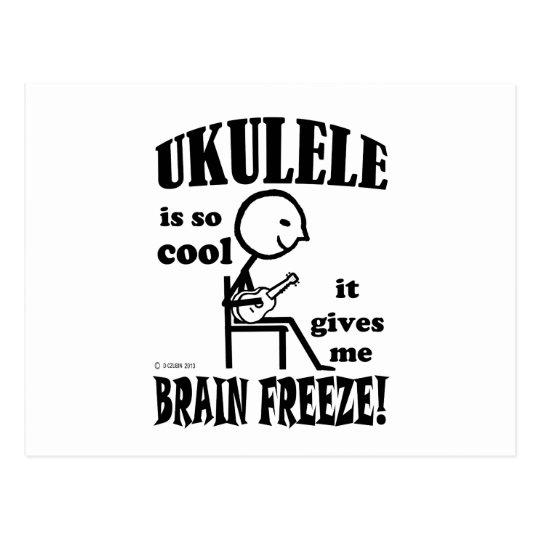 Ukulele, Brain Freeze Postcard