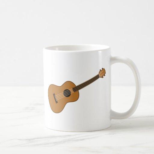 Ukulele Classic White Coffee Mug