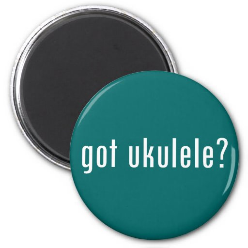¿ukulele conseguido? imán