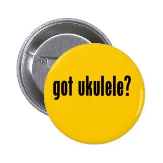 ¿ukulele conseguido? pin redondo 5 cm