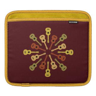 Ukulele custom iPad / laptop sleeve