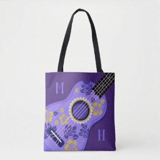 Ukulele custom monogram bags