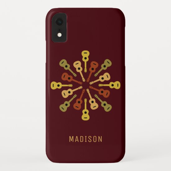Ukulele custom name phone cases