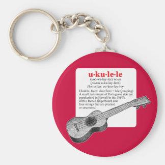 Ukulele Definition Keychain