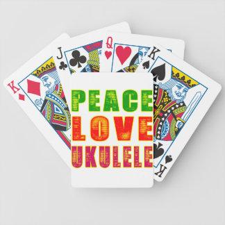 Ukulele del amor de la paz barajas
