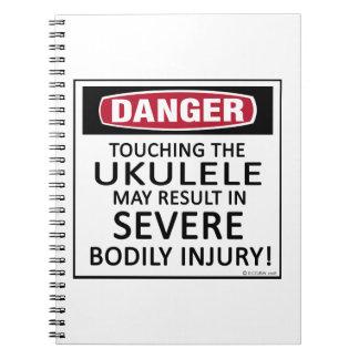 Ukulele del peligro cuadernos