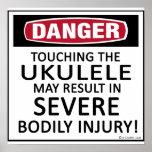 Ukulele del peligro posters