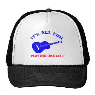 Ukulele Designs Hats