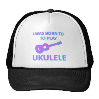 Ukulele Designs Mesh Hat