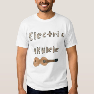 ukulele eléctrico remeras