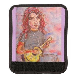 ukulele girl art handle wrap