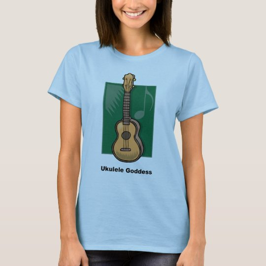 Ukulele Goddess T-Shirt