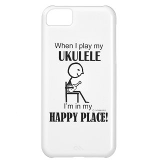 Ukulele Happy Place Case For iPhone 5C