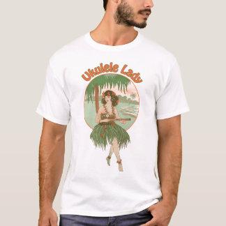Ukulele Lady #1 Men's light short sleeve T-Shirt