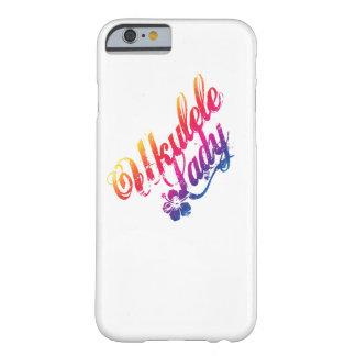 Ukulele Lady iPhone 6 Case