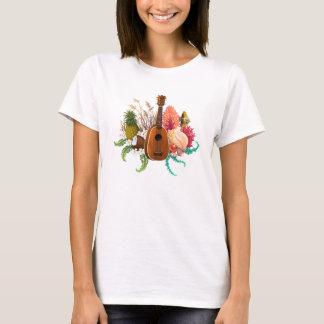 Ukulele Land & Sea Pineapple T-Shirt