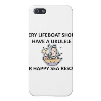 Ukulele Lifeboat iPhone SE/5/5s Case