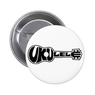 Ukulele Logo Button