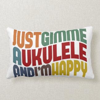 Ukulele Lumbar Pillow