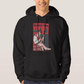 Ukulele Man Dark Hoodie