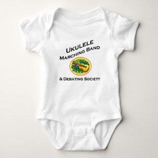 Ukulele Marching Band & Debating Society Baby Bodysuit
