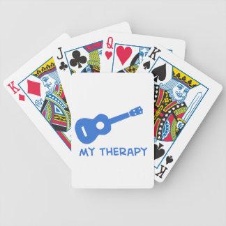 Ukulele mi terapia baraja de cartas