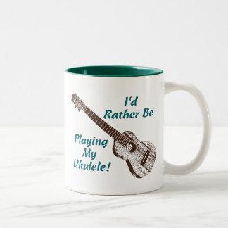 Ukulele Coffee Mug