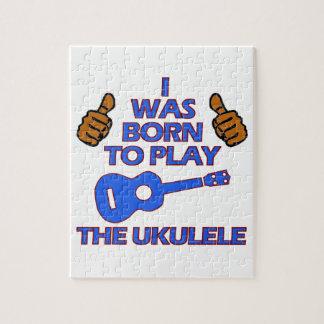 UKULELE Musical designs Puzzles