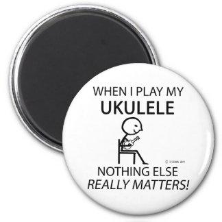 Ukulele Nothing Else Matters Fridge Magnets