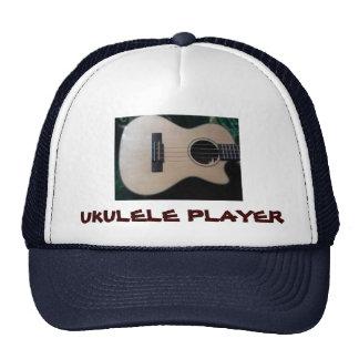 UKULELE PLAYER HAT 3 30 13