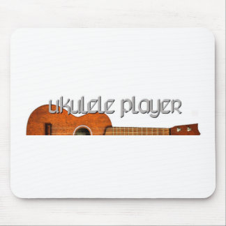 Ukulele Player Magazine Logo Mouse Pad