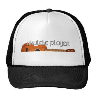 Ukulele Player Magazine Logo Trucker Hats