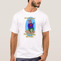 Ukulele-playing pig, Animal Farm, 4 strings better T-Shirt