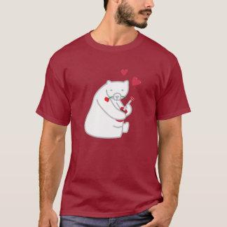 Ukulele Polar Bear Valentine Love Song T Shirt