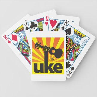 Ukulele Power Bicycle Playing Cards