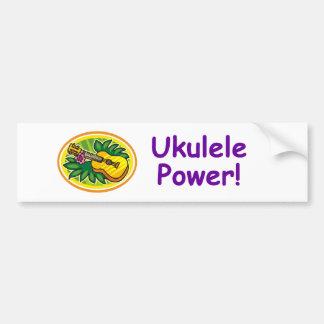 Ukulele Power! Bumper Sticker