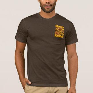 Ukulele Rangers Singing Bear (back) w/Pocket Logo T-Shirt