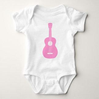Ukulele - rosa body para bebé