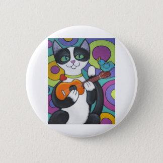 Ukulele Serenade Pinback Button