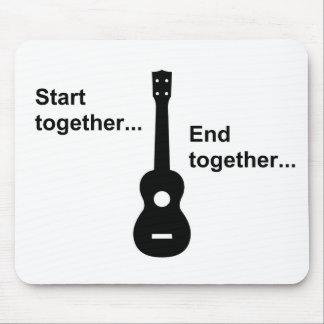 Ukulele Start Together... Mouse Pad