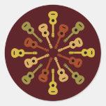 Ukulele stickers