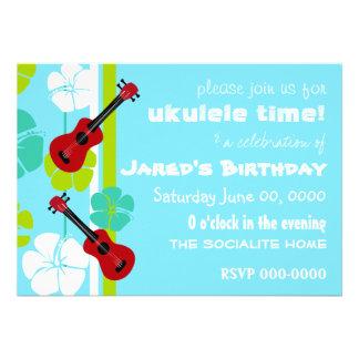 Ukulele Time! Personalized Invite