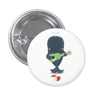 Ukulele Whaley Badge Button