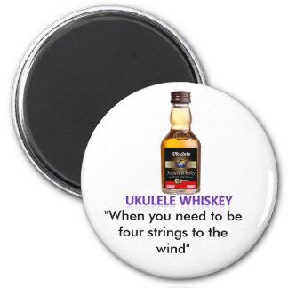 Ukulele Whiskey Magnet