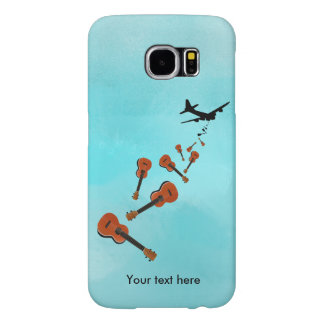 Ukuleles being dropped from a plane samsung galaxy s6 case