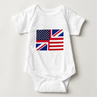 UKUSAFLAG.jpg Baby Bodysuit