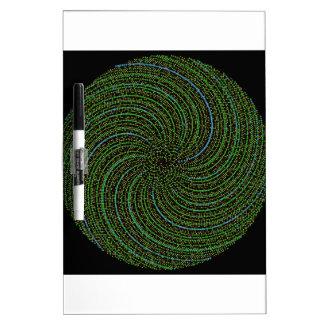 Ulam Spiral Dry-Erase Whiteboards