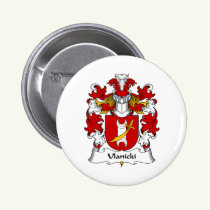 Ulanicki Family Crest Button
