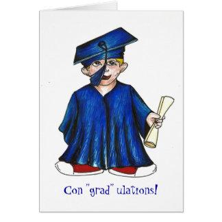 ¡Ulations del graduado de la estafa Tarjeta