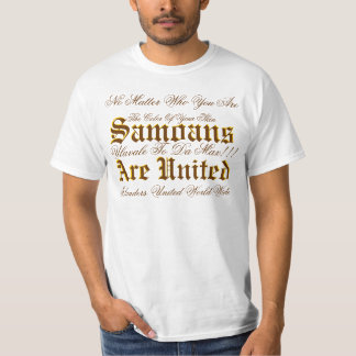 Ulavale To Da Max!!!, Samoans, Are United, Samo... T-Shirt